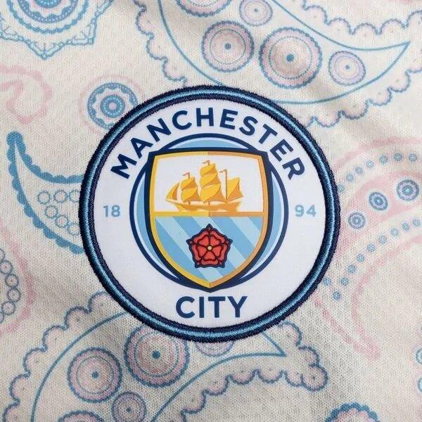 Манчестер Сити детская резервная форма 2020-2021 (футболка + шорты + гетры)