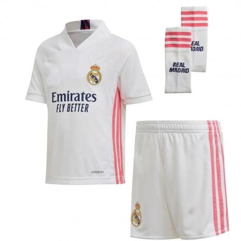 Реал Мадрид Футбольная форма детская для домашних игр 2020-2021 Бейл 11 (Футболка + Шорты + Гетры)