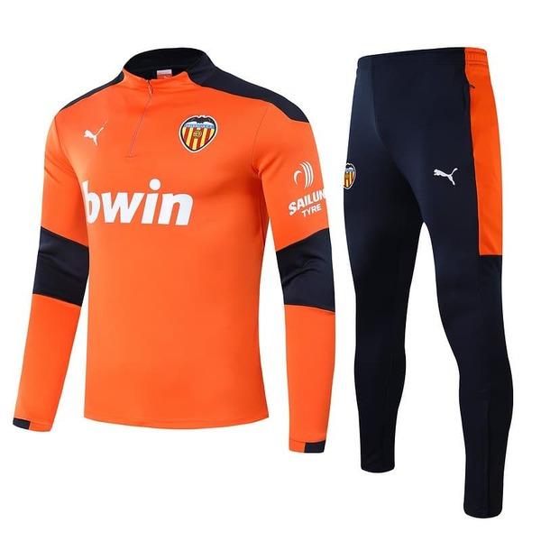 Валенсия тренировочный костюм оранжевый 2020-2021